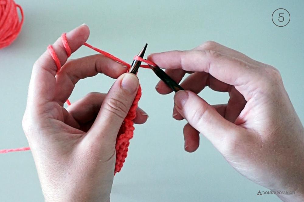 how cabled cast on wie maschen aufstricken donnarossa schritt step 5