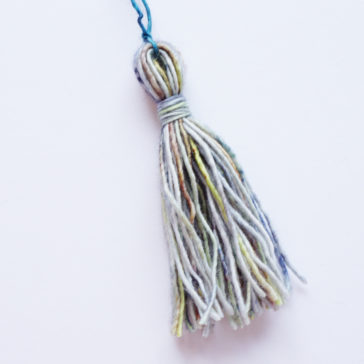 How to make a tassel tutorial