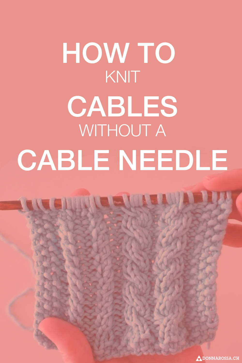 Tutorial cabling without cabling needle