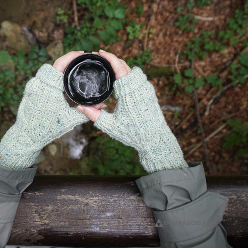 Stradbally mitts fingerlose Handschuhe stricken Strickanleitung knitting pattern