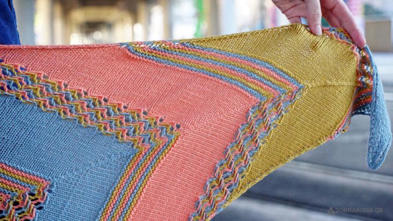 leucate shawl tuch donnarossa knitting pattern strickanleitung detail