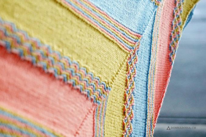 leucate shawl tuch donnarossa knitting pattern strickanleitung nahaufnahme texture