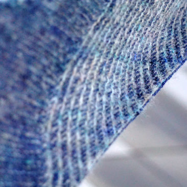 Scarborough shawl detail
