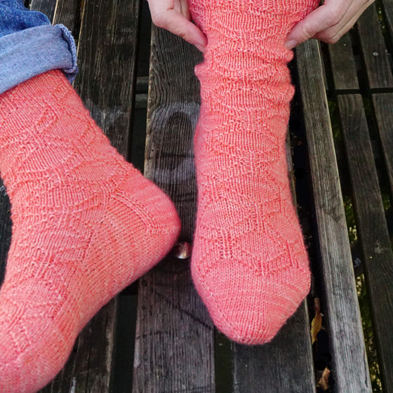 Penrose Socken donnarossa knitting pattern