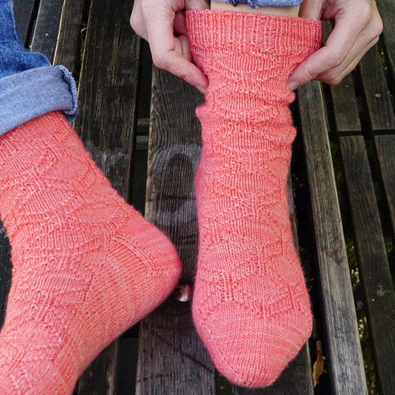 Penrose Socken donnarossa Strickanleitung Socken