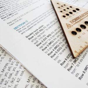 Understanding english knitting patterns