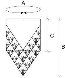 Lahinch Junior cowl schematic donnarossa