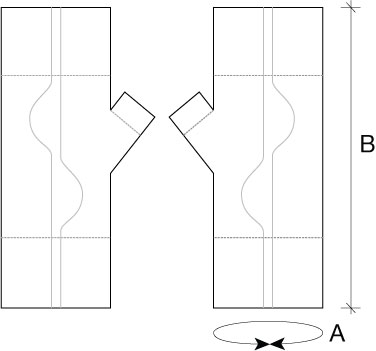 Stradbally mitts schematic