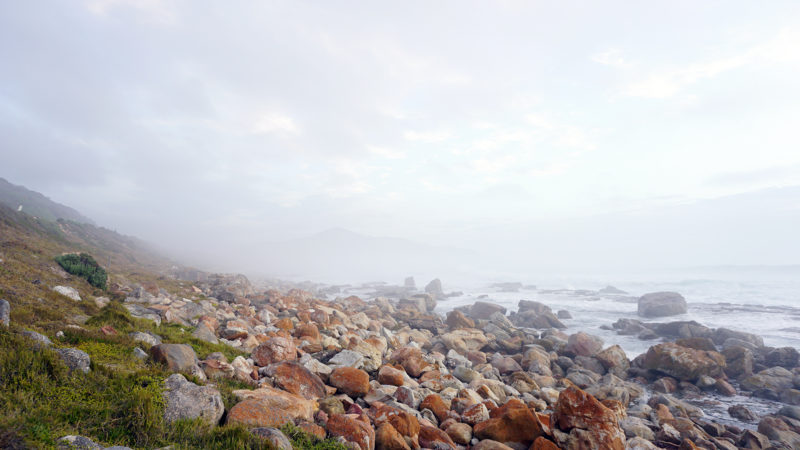 Misty Cliffs hat donnarossa photoshooting location