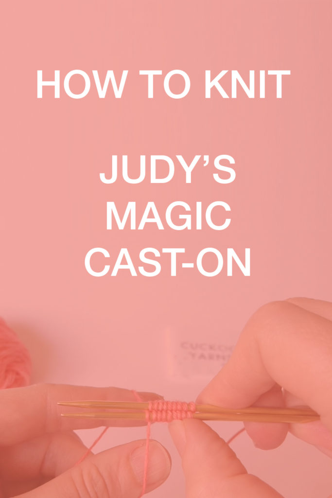 How to knit judys magic co - Pinterest tutorial donnarossa