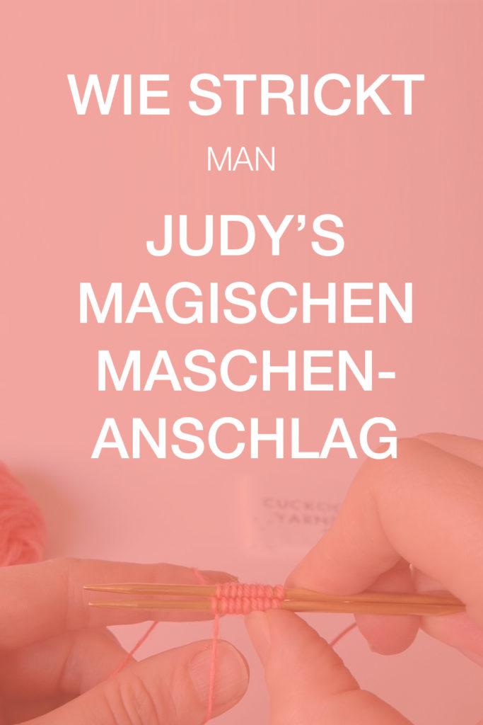 Wie strickt man Judy's magischen Maschenanschlag Tutorial donnarossa