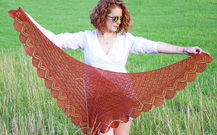 mehndi shawl knitting pattern total donnarossa