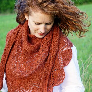 mehndi knitting pattern shawl wearing donnarossa