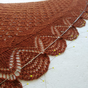 How to wet block your knits