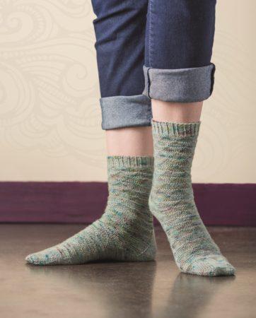 Churfirsten sock knitting pattern donnarossa