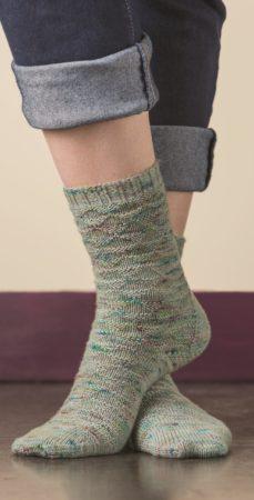 Churfirsten sock knitting pattern donnarossa tall
