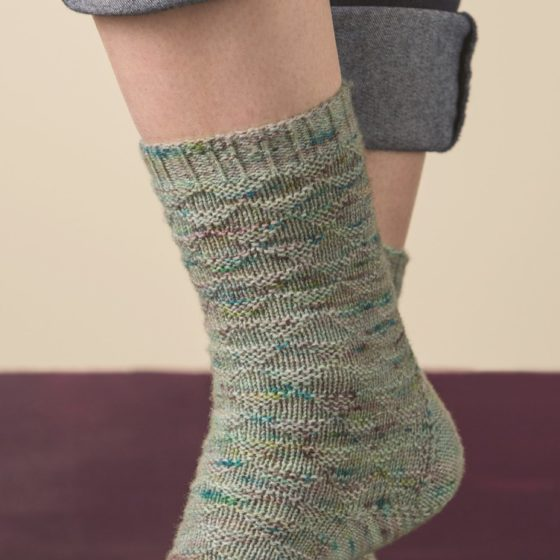 Churfirsten sock knitting pattern donnarossa tall