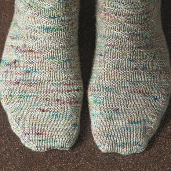 Churfirsten sock knitting pattern donnarossa toes