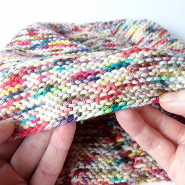 how to knit the old norwegian cast-on twisted german tutorial