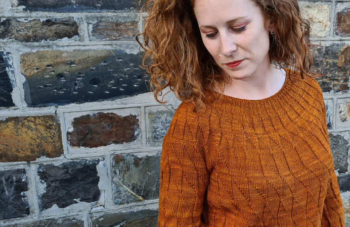 Equiliber Front knitting pattern donnarossa