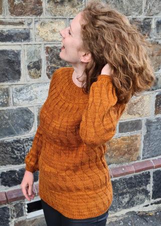 Equiliber cuff detail knitting pattern donnarossa