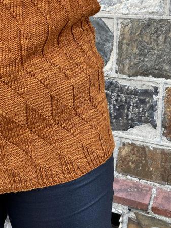 Equiliber hem detail knitting pattern donnarossa