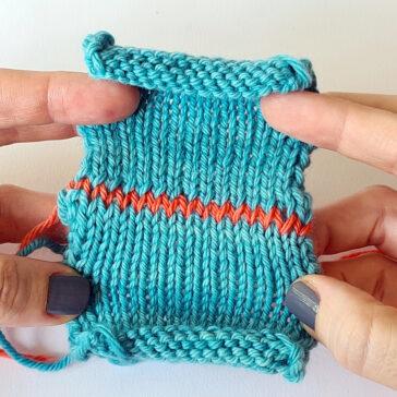 Kitchener stitch Tutorial donnarossa knitting