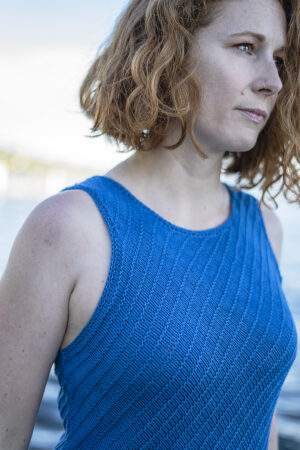Marin Shirt Detail Träger donnarossa Strickanleitung