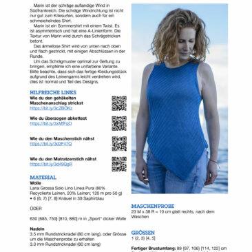 Marin Strickanleitung Titelblatt donnarossa